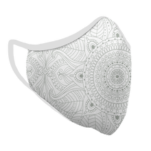 Load image into Gallery viewer, Touch of Mandala Premium Fitted Face Cover