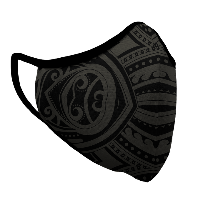 Tribal Survival Premium Fitted Face Cover