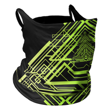 Load image into Gallery viewer, Tron Trees Premium Fitted Neck Gaiter with Ear Support