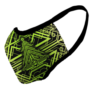 Tron Trees Premium Fitted Face Cover