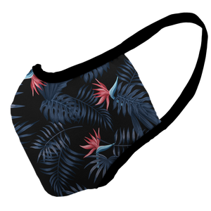 Tropical Twilight Premium Fitted Face Cover