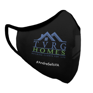 TVRG HOMES Premium Fitted Face Cover