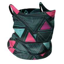 Load image into Gallery viewer, Triangle Tribe Premium Fitted Neck Gaiter with Ear Support