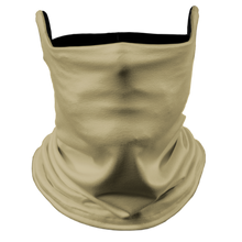 Load image into Gallery viewer, Solid Vegas Premium Fitted Neck Gaiter with Ear Support with Black Trim
