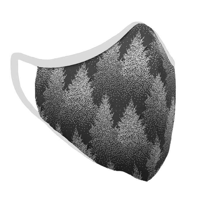 Winter Storm Premium Fitted Face Cover