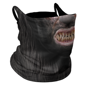 Wolf Man Premium Fitted Neck Gaiter with Ear Support