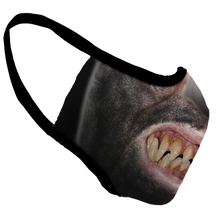 Load image into Gallery viewer, Wolf Man Premium Fitted Face Cover