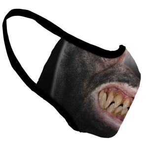 Wolf Man Premium Fitted Face Cover
