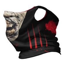 Load image into Gallery viewer, Zombie Rot Premium Fitted Neck Gaiter with Ear Support
