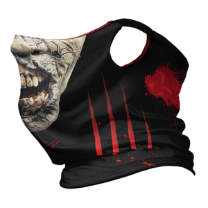 Zombie Rot Premium Fitted Neck Gaiter with Ear Support