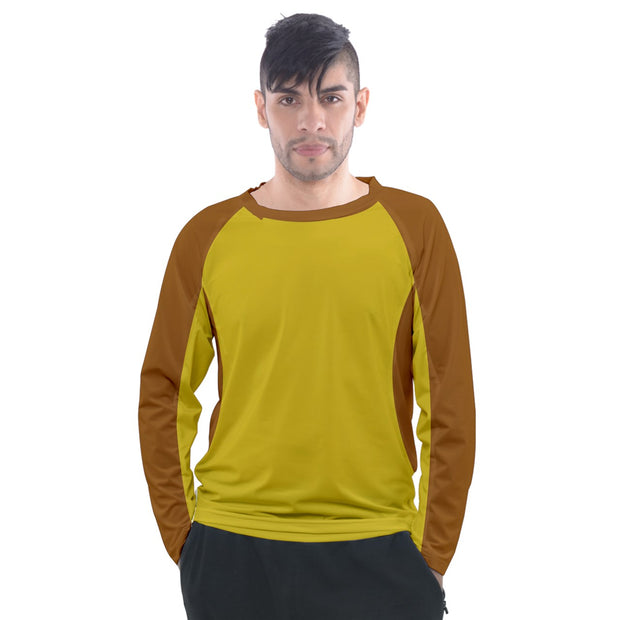 Beanies brown for sweatshirt Men's Long Sleeve Raglan Tee