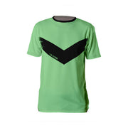 Apple Green Chevron T-shirt - Dark Sentinel