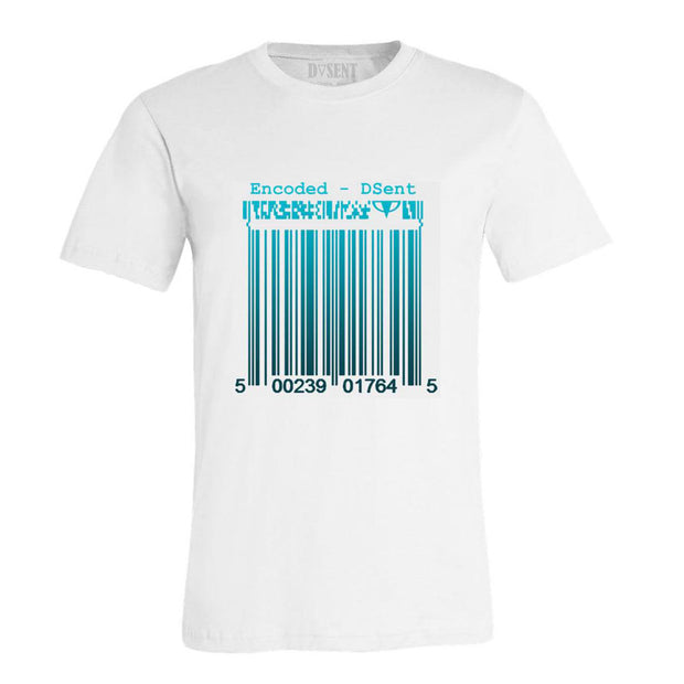 Encode Teal T-Shirt - Dark Sentinel