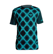 Blue Chill Diamond T-shirt - Dark Sentinel