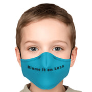 Blue 2020 Face Mask