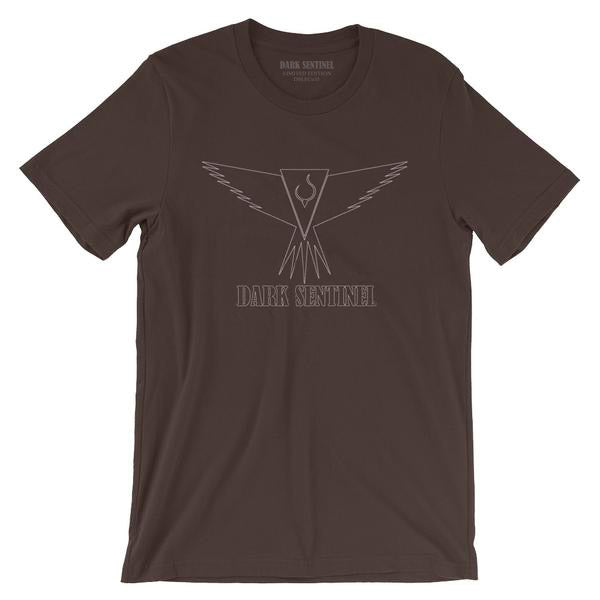 Outlined Logo T-Shirt - Dark Sentinel