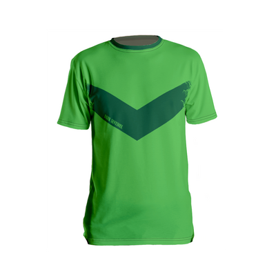 Fern Chevron T-Shirt - Dark Sentinel