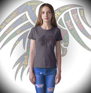 Girl in Eagle Shirt
