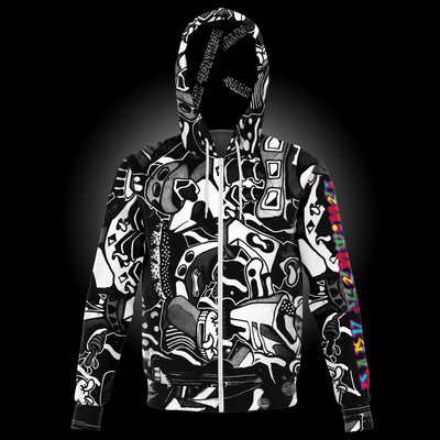 Graffito v1 Zip-up Hoodie