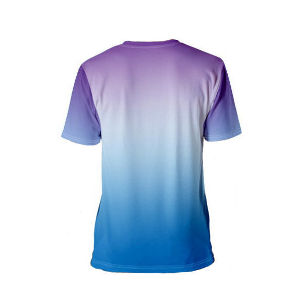 Purple and Blue Building Blocks T-shirt - Dark Sentinel