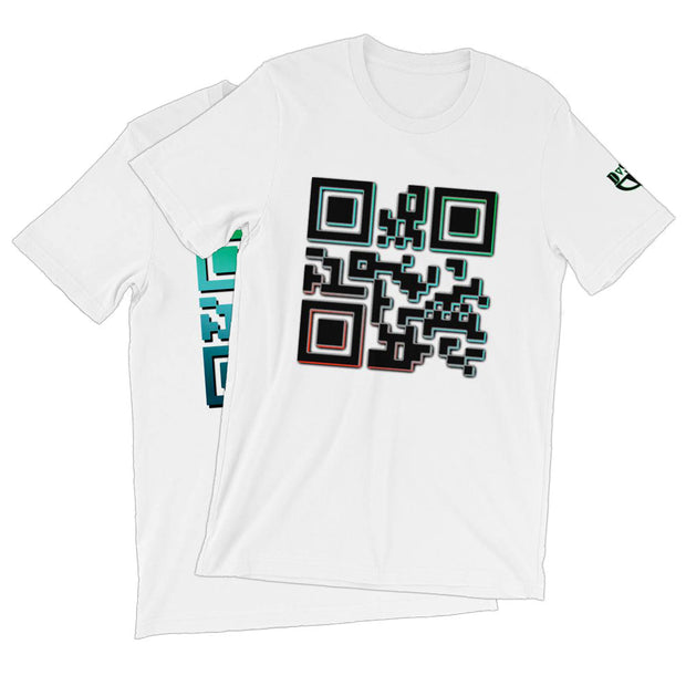 Encode QR T-Shirt - Dark Sentinel