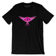 LE Custom Logo in Violet T-Shirt - Dark Sentinel