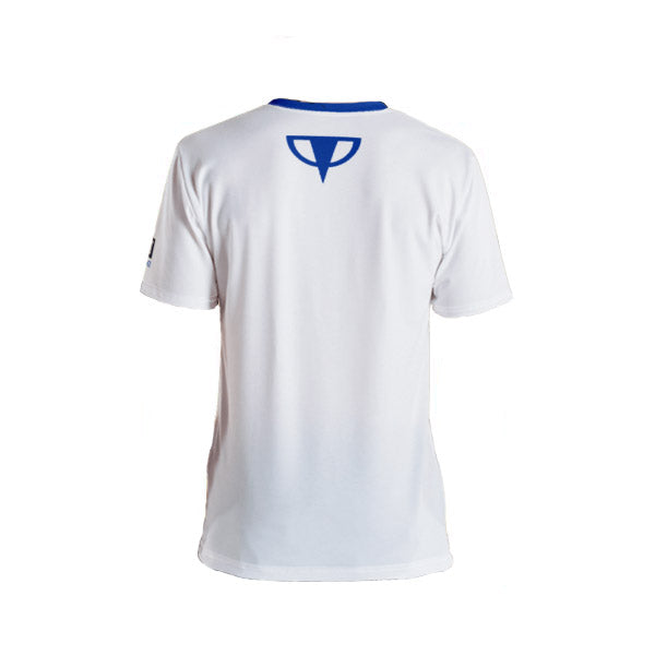 White Performance T-shirt - Dark Sentinel