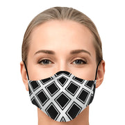 Woman's face mask