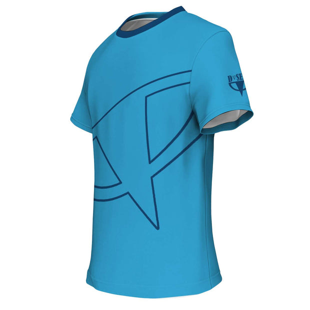 Pelorous Blue Fitness Shirt - Dark Sentinel