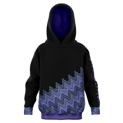 Purple Honeycombe Hoodie - Dark Sentinel