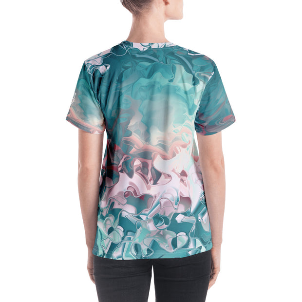 Pastel Pattern - Women's V-neck - Dark Sentinel