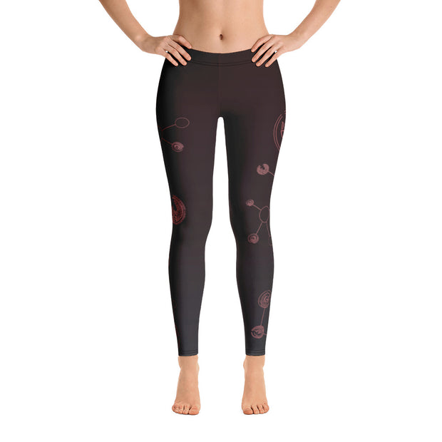 Tech v2 Nero Leggings - Dark Sentinel
