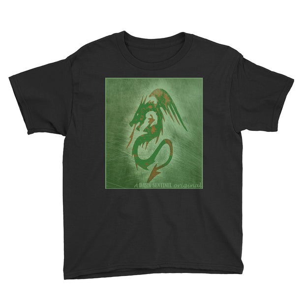 Green Dragon Youth T-Shirt - Dark Sentinel