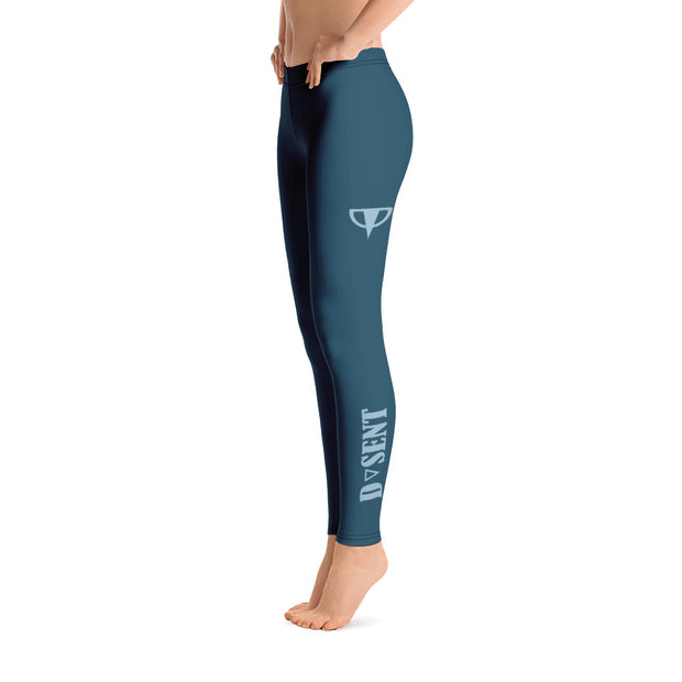 Astronaut Blue Leggings - Dark Sentinel