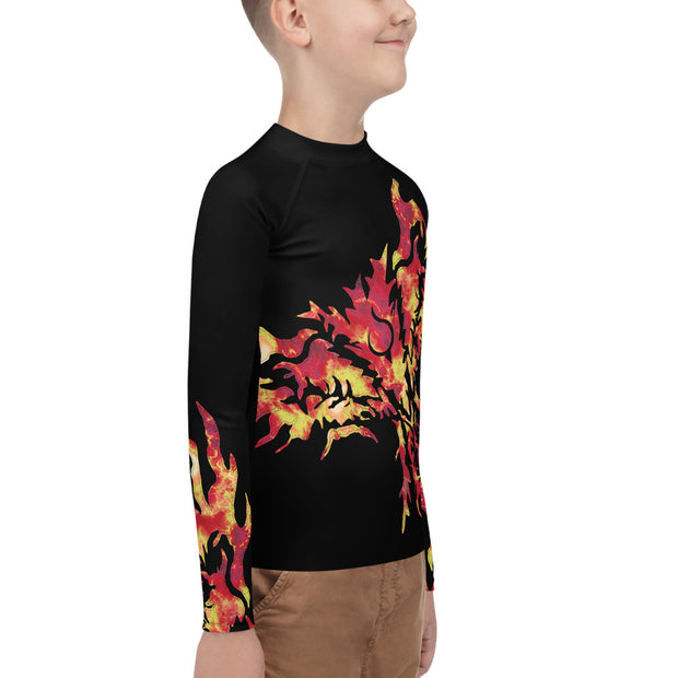 Phoenix Rash Guard - Dark Sentinel