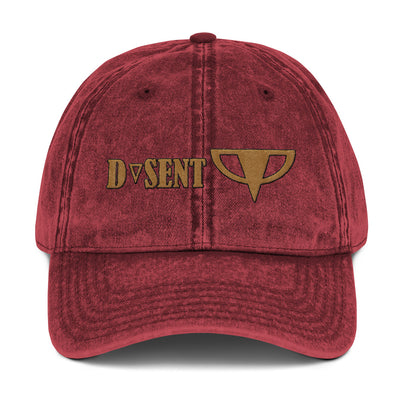 Vintage Cotton Twill Cap - Dark Sentinel