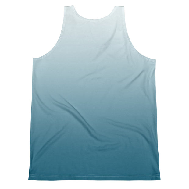 Astral Blue Ombre Fitness Vest - Dark Sentinel