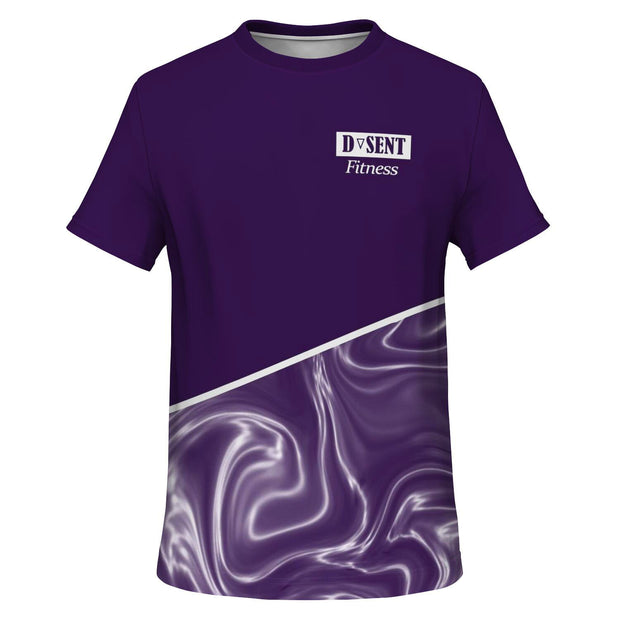 Blackcurrant Swirl Shirt - Dark Sentinel