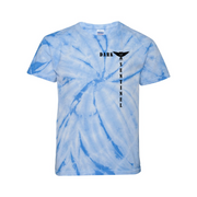 Vat-Dyed Pinwheel Youth T-Shirt - Dark Sentinel
