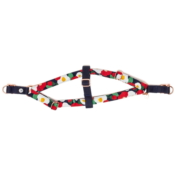 Camellia Step-In Harness