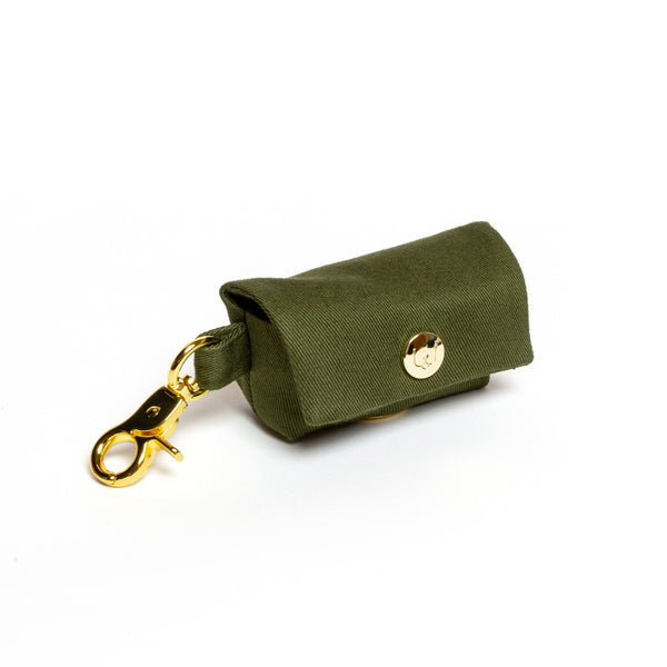 Olive Poop Bag Carrier