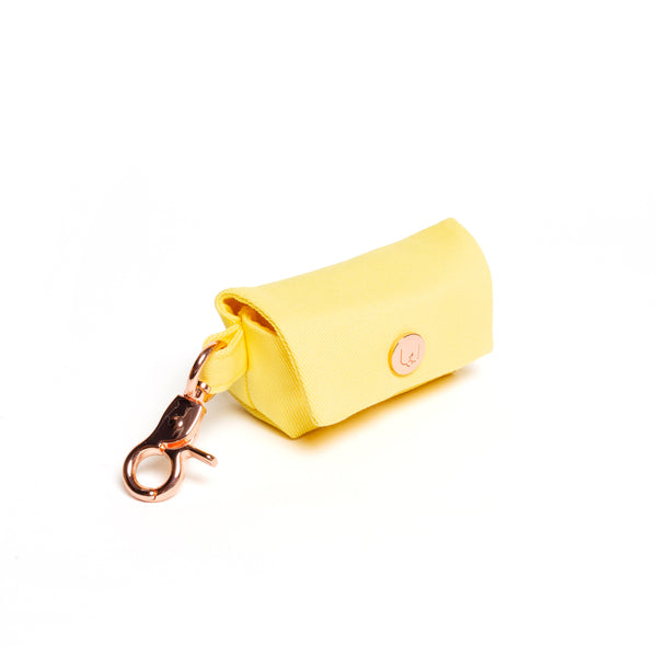 Lemon Poop Bag Carrier