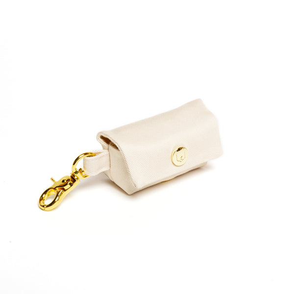 Ivory Poop Bag Carrier
