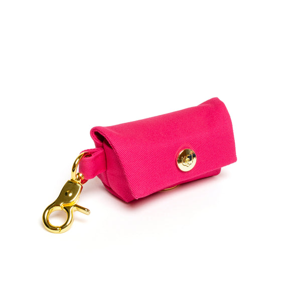 Magenta Poop Bag Carrier