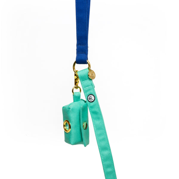 Seafoam Poop Bag Carrier