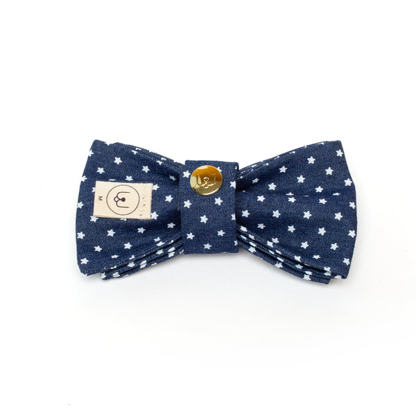 Stars and Stripes - Blue Bow Tie