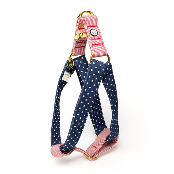 Stars and Stripes Step-In Harness