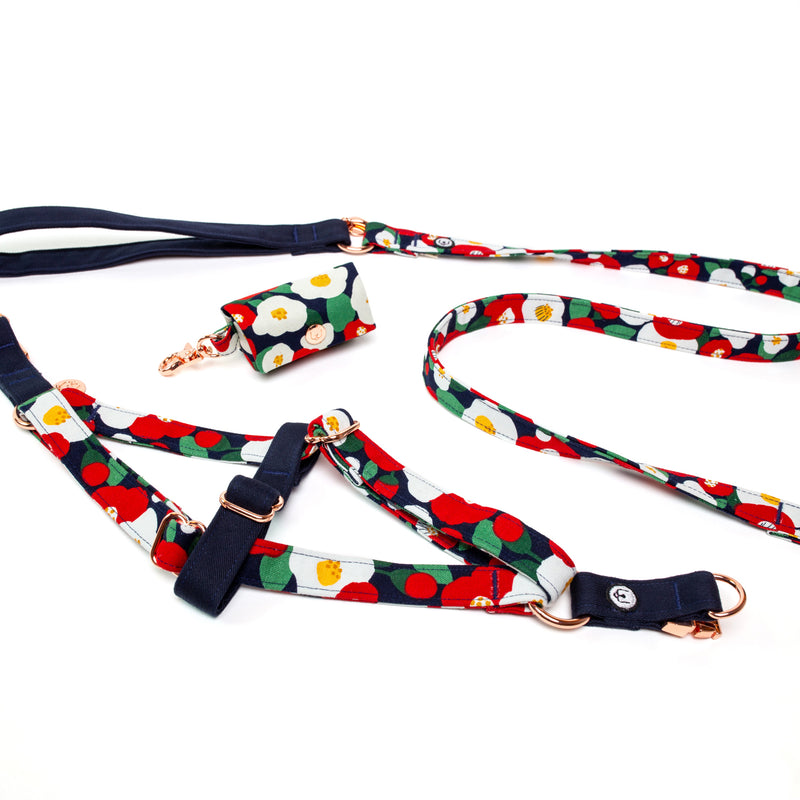 Camellia Step-In Harness Set