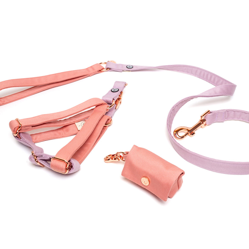 Blossom-Lilac Step-In Harness Set
