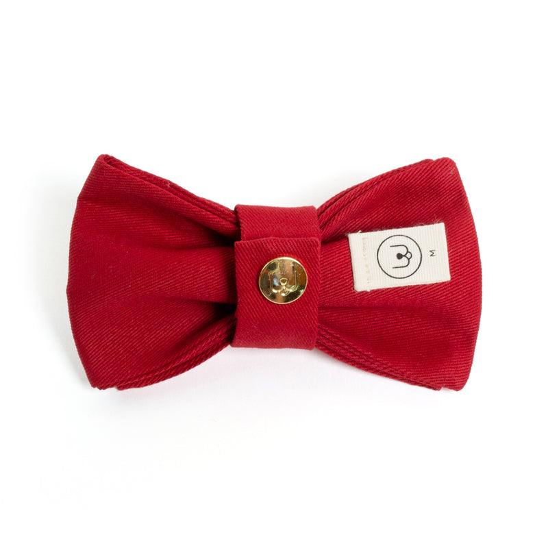 Ruby Bow Tie